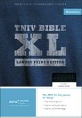 Bible TNIV Larger Print Black Leather
