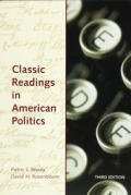Classic Readings In American Politics 3rd Edition