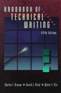 Handbook Of Technical Writing 5th Edition