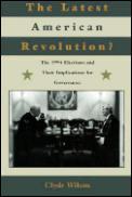 Latest American Revolution The 1994 Elec