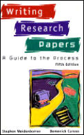 Writing Research Papers 5th Edition