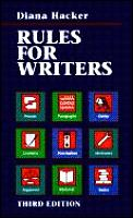 Rules For Writers a Brief Handbook 3rd Edition