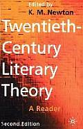 Twentieth Century Literary Theory A Reader 2nd Edition