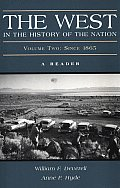 West In The History Of The Nation Volume 2