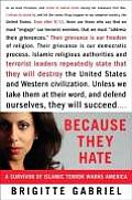 Because They Hate A Survivor of Islamic Terror Warns America