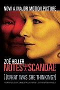 Notes on a Scandal What Was She Thinking A Novel