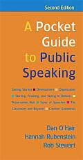 Pocket Guide To Public Speaking 2nd Edition