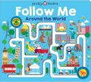 Maze Book Follow Me Around the World