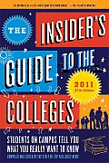 Insiders Guide To The Colleges 2011