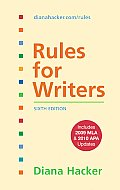 Rules for Writers 6th Edition