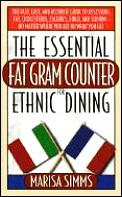 Essential Fat Gram Counter For