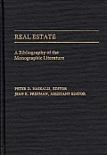 Real Estate: A Bibliography of the Monographic Literature