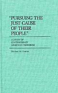 Pursuing the Just Cause of Their People A Study of Contemporary Armenian Terrorism
