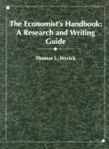 Economists Handbook A Research & Writing Guide