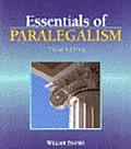 Essentials of paralegalism