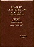 Disability Civil Rights Law and Policy : Cases and Materials (05 - Old Edition)
