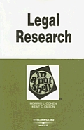 Legal Research In A Nutshell 8th Edition