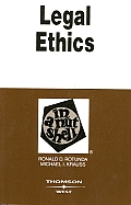 Legal Ethics in a Nutshell (In a Nutshell)