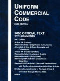 Uniform Commercial Code-2000 Ed. (00 Edition)