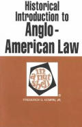 Historical Introduction To Anglo America