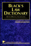 Blacks Law Dictionary Abridged 6th Edition
