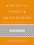 Bartletts Familiar Quotations 18th Edition