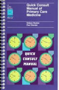 Quick Consult Manual Of Primary Care Med