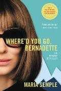 Whered You Go Bernadette A Novel
