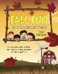 Fall Fun Letter and Number Tracing: Pre-K Workbook