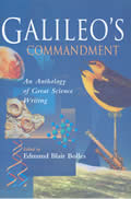 Galileos Commandment An Anthology Of Gre