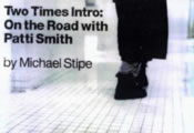 Two Times Introduction On The Road Patti Smith