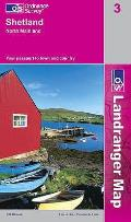 Shetland - North Mainland 1 : 50 000