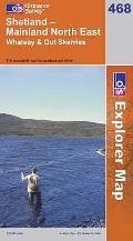 Shetland - Mainland North East 1 : 25 000