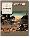 Historical Viewpoints Notab Volume 1 To 1877