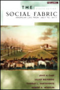 Social Fabric American Life From 1607