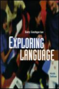 Exploring Language 9th Edition