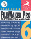 FileMaker Pro 6 for Windows & Macintosh Visual QuickStart Guide