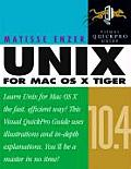 Unix for Mac OS X 10.4 Tiger: Visual Quickpro Guide (Visual QuickPro Guides)