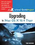 Upgrading to Mac OS X 10.4 Tiger