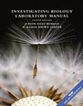 Investigating Biology Laboratory Manual 8th Edition