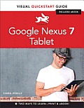 Google Nexus 7 Tablet Visual QuickStart Guide