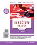 Effective Reader Books A La Carte Edition