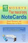 Mosbys Pharmacology Notecards