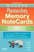 Mosbys Pharmacology Memory Notecards Visual Mnemonic & Memory Aids for Nurses