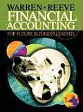 Financial Accounting for Future Business Leaders (with Thomson One)