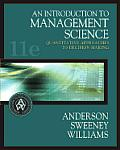 Introduction To Management Science 11th Edition
