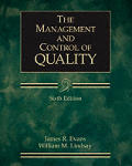Management and Control of Quality (Ise)
