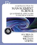 Introduction To Management Science - With CD (12TH 08 - Old Edition)