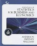 Essentials of Statistics for Business & Economics with CDROM