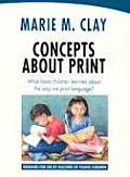 Concepts about Print What Have Children Learned about the Way We Print Language